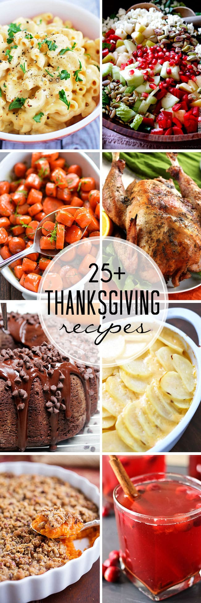 Thanksgiving Dinner Dishes  25 Thanksgiving Recipes That Skinny Chick Can Bake