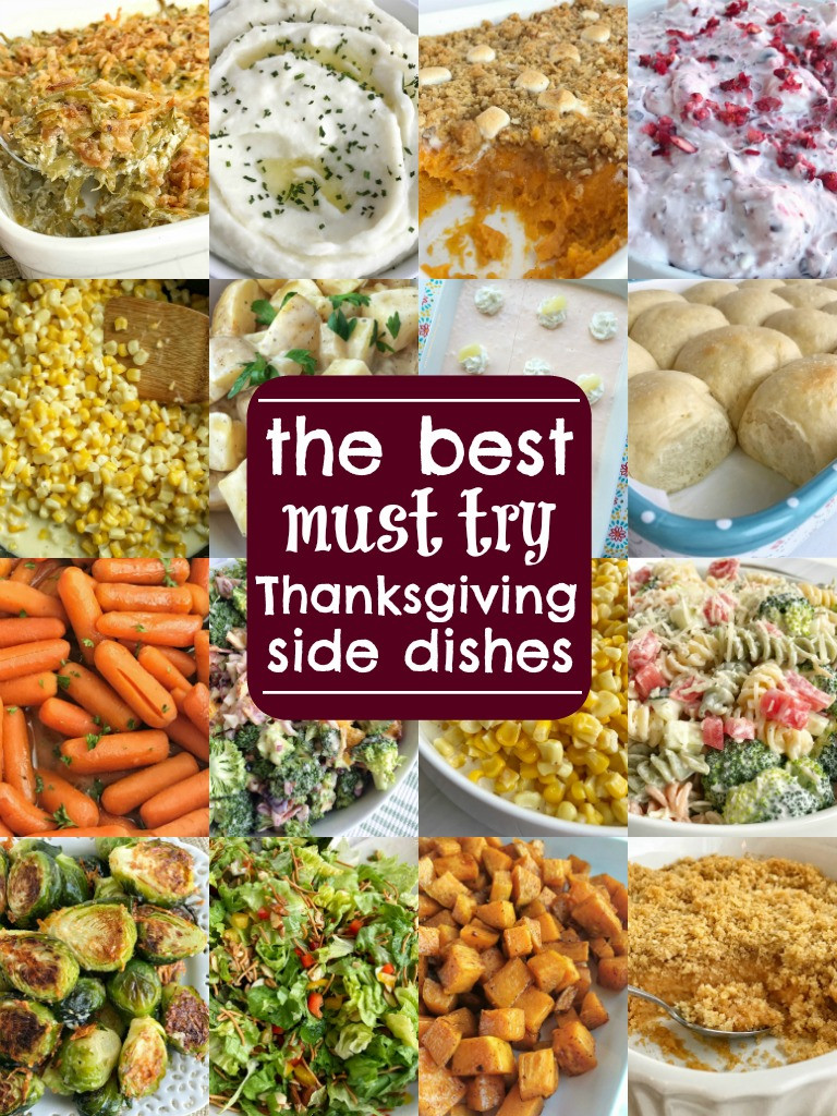 Thanksgiving Dinner Dishes  The Best Thanksgiving Side Dish Recipes To her as Family
