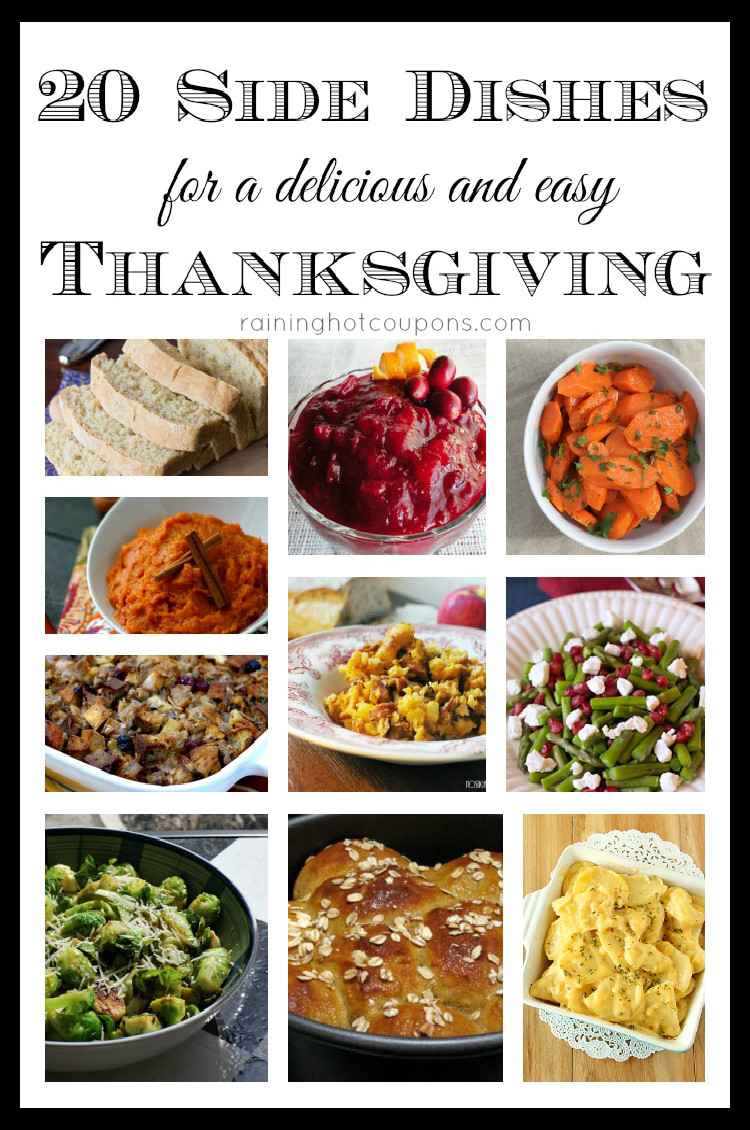 Thanksgiving Dinner Dishes  20 Side Dishes for a Delicious and Easy Thanksgiving Dinner