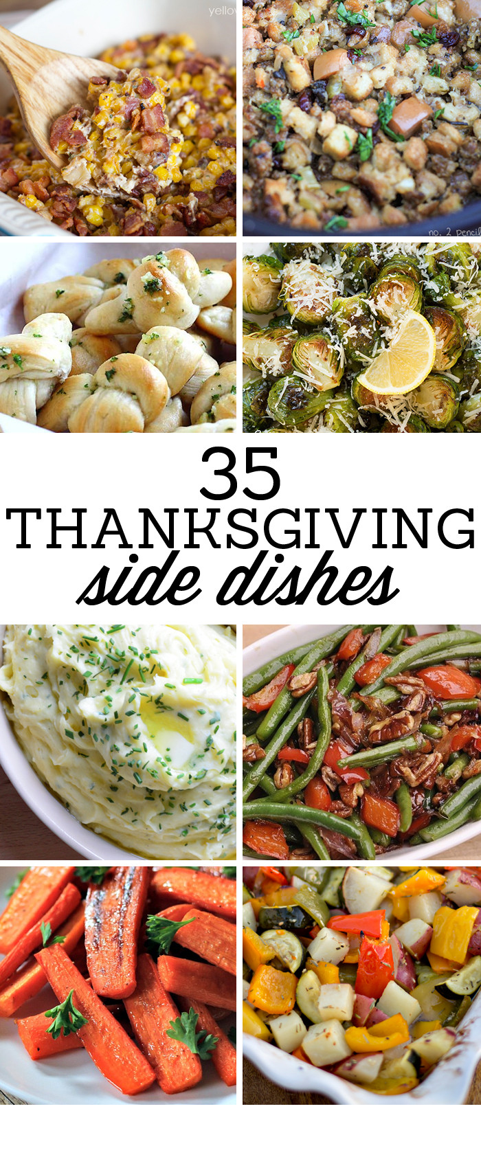 Thanksgiving Dinner Dishes  35 Side Dishes for Christmas Dinner Yellow Bliss Road