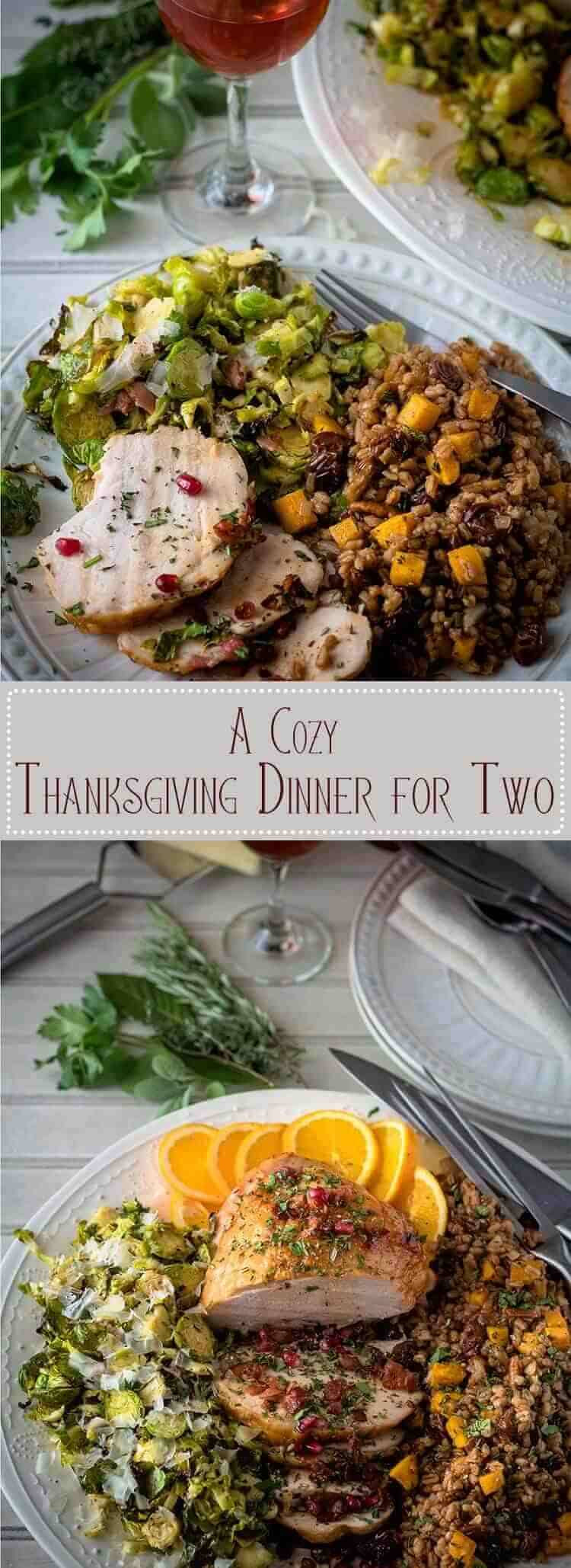 Thanksgiving Dinner For Two  A Cozy Thanksgiving Dinner For Two Beyond Mere Sustenance