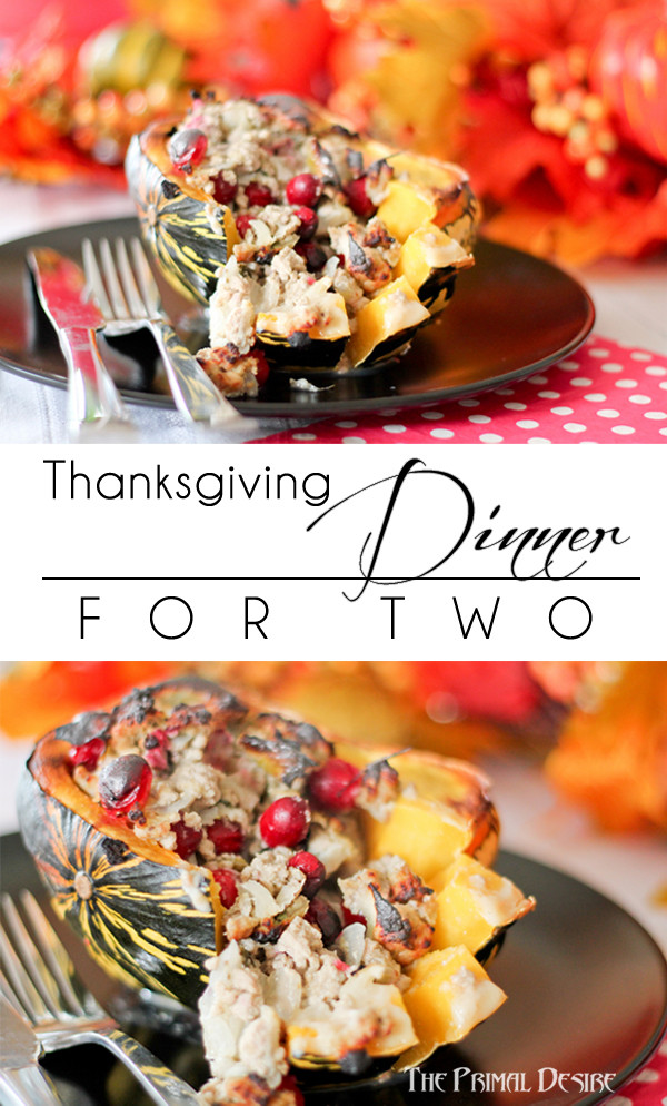 Thanksgiving Dinner For Two  Paleo Thanksgiving for Two The Primal Desire