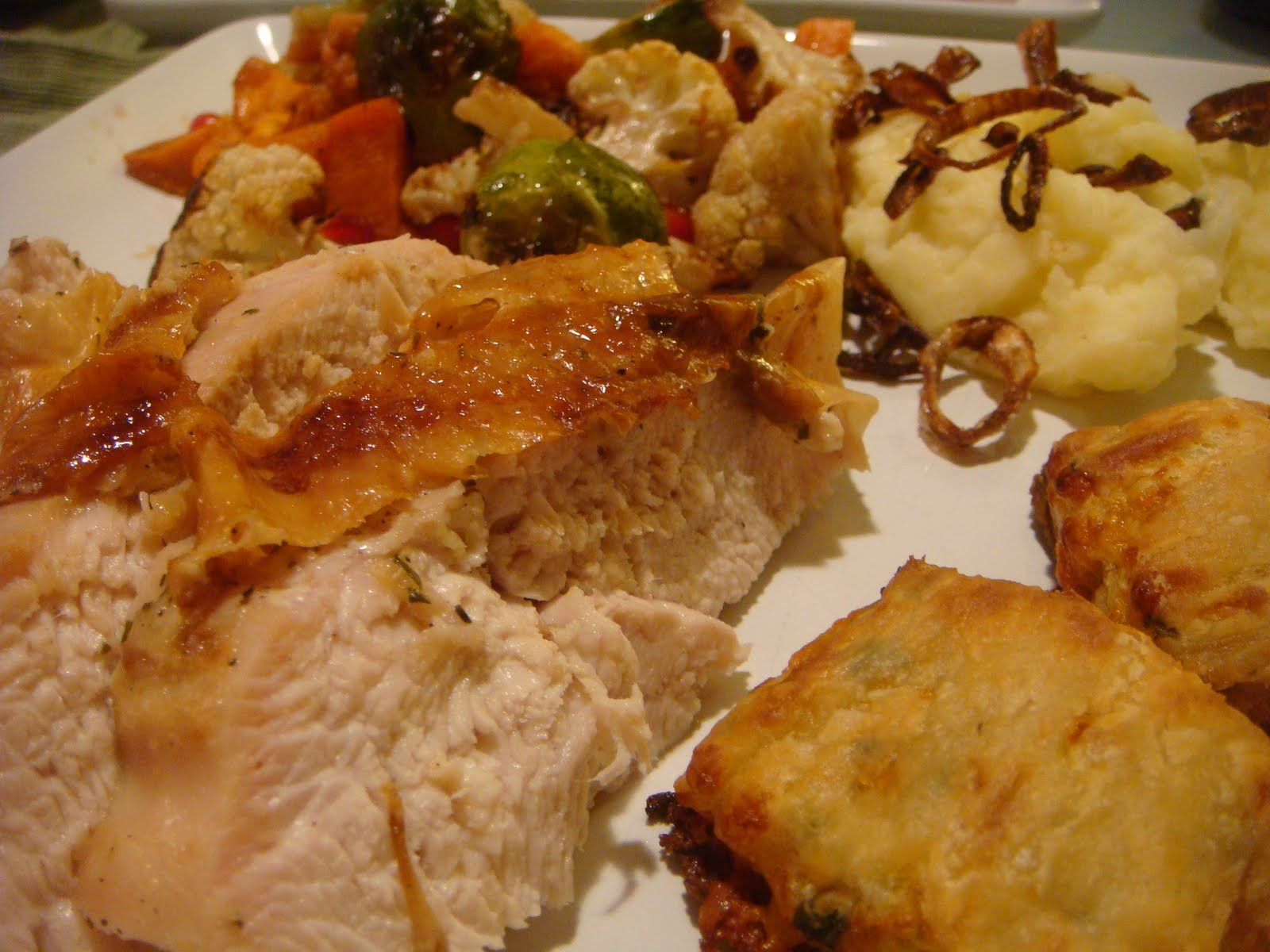 Thanksgiving Dinner For Two  Delicious Dishings Mini Thanksgiving Dinner For Two