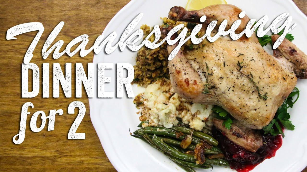 Thanksgiving Dinner For Two  Thanksgiving Dinner for Two Recipes Bits & Pieces