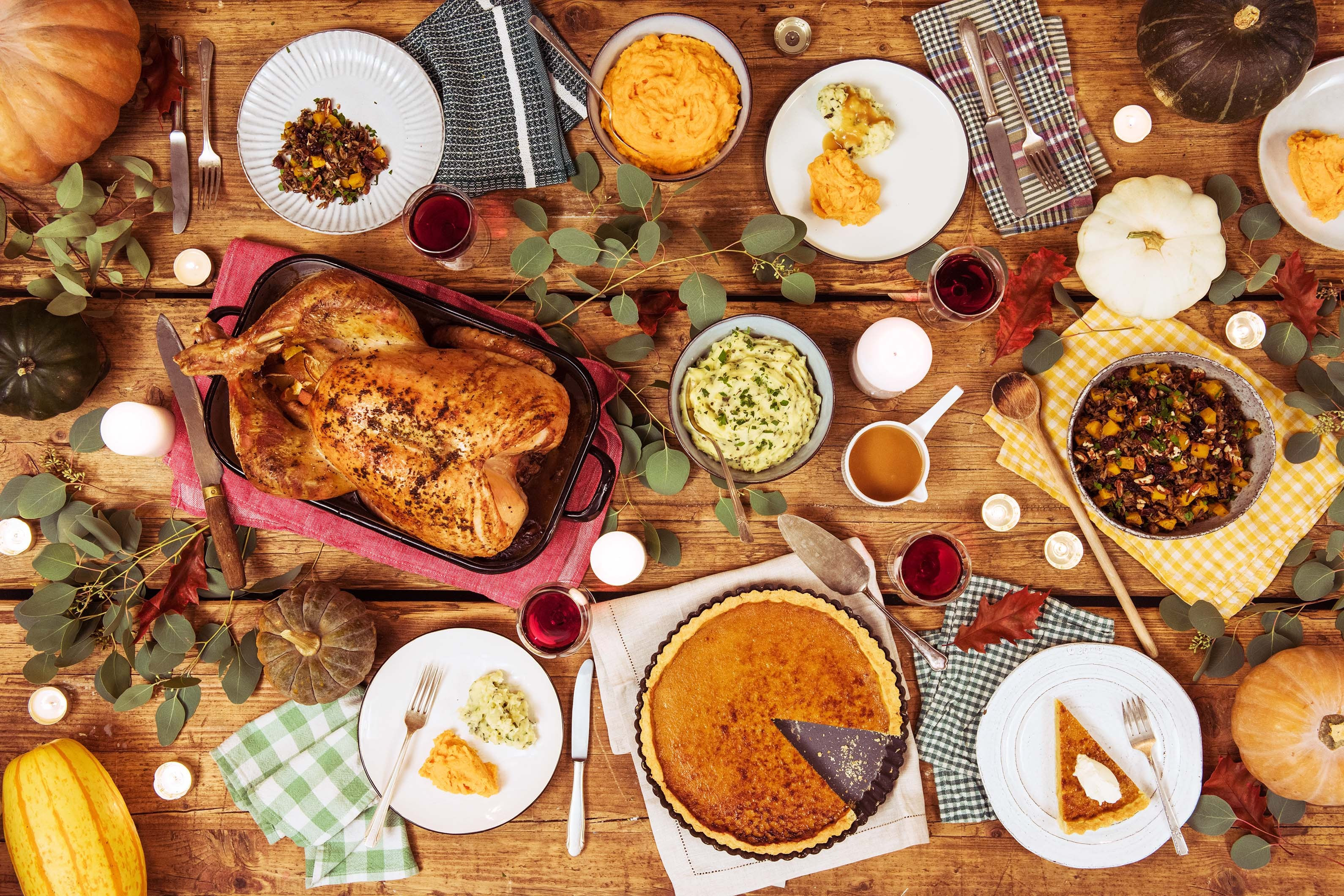 Thanksgiving Dinner Ideas  Deliciously Simple Thanksgiving Menu Ideas