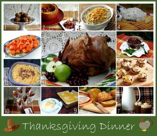 Thanksgiving Dinner Ideas  Thanksgiving Dinner Recipes Recipe