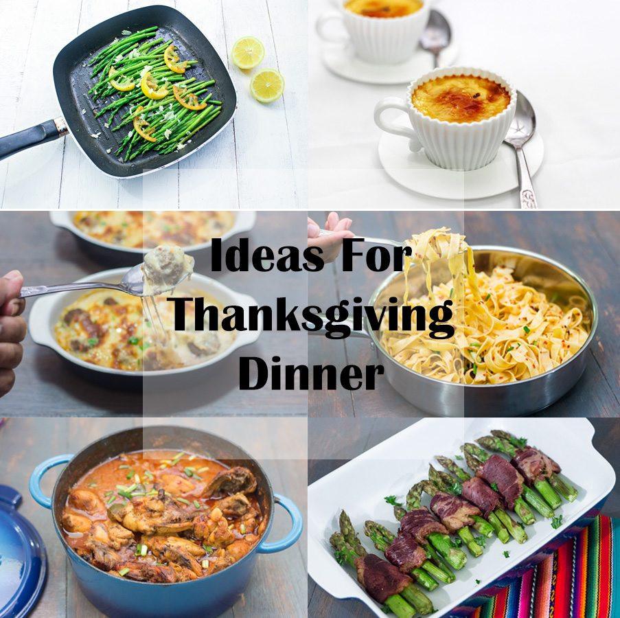 Thanksgiving Dinner Ideas  Ideas for Thanksgiving Dinner Maya Kitchenette