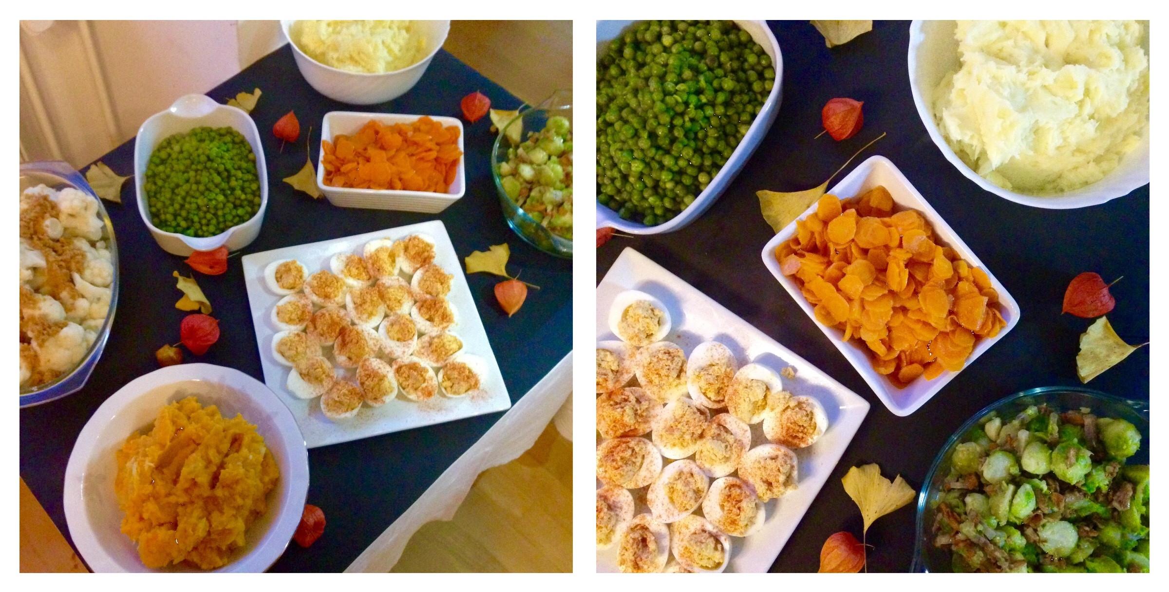 Thanksgiving Dinner Ideas  Table decoration