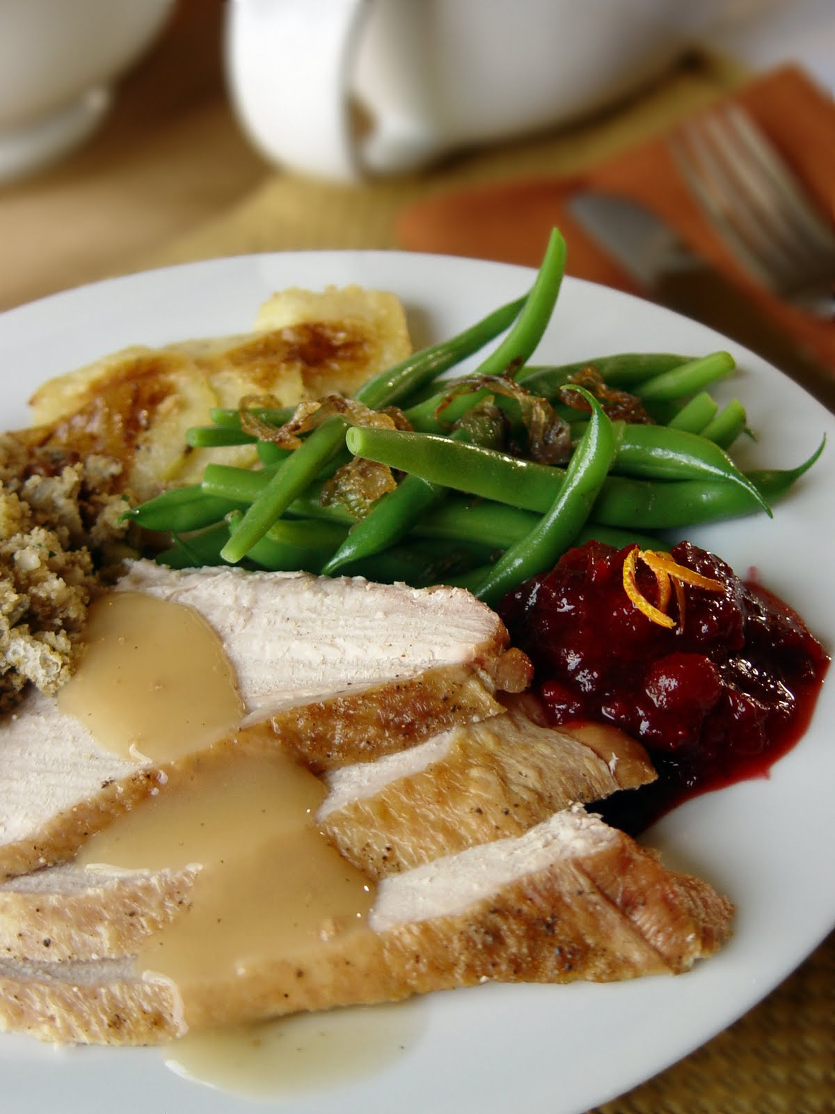Thanksgiving Dinner Plate  Holiday Meal Planning for Dads