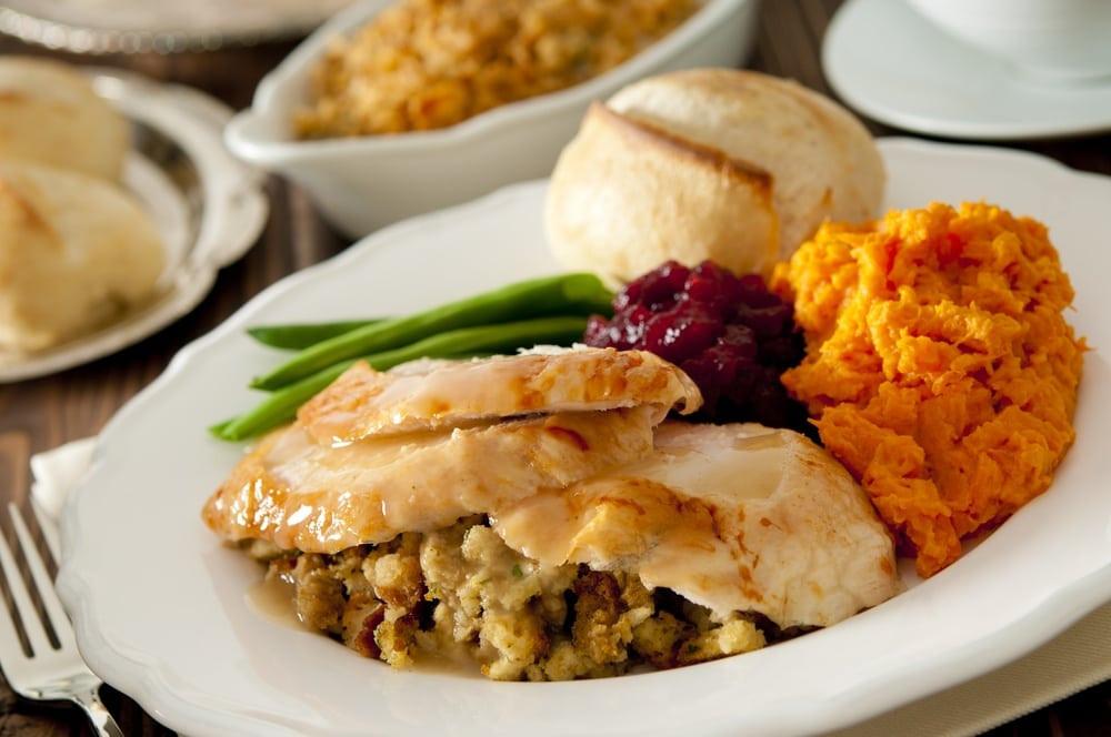 Thanksgiving Dinner Plate  Plan an Incredible Thanksgiving at a Gatlinburg Condo in 5