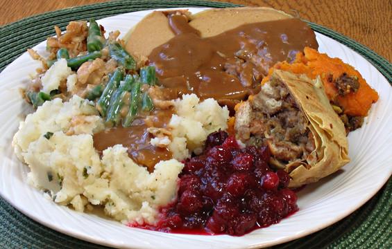 Thanksgiving Dinner Plate  My Thanksgiving Dinner – Robin Robertson