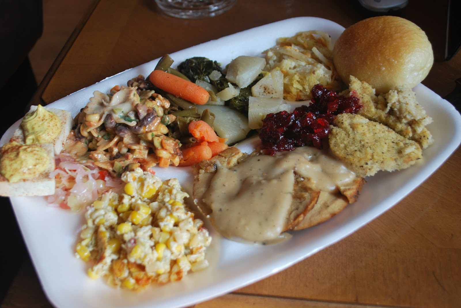 Thanksgiving Dinner Plate  Vegan Crunk Thanksgiving Veganaversary