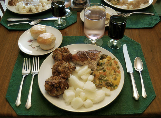 Thanksgiving Dinner Plate  What is Japan s Thanksgiving