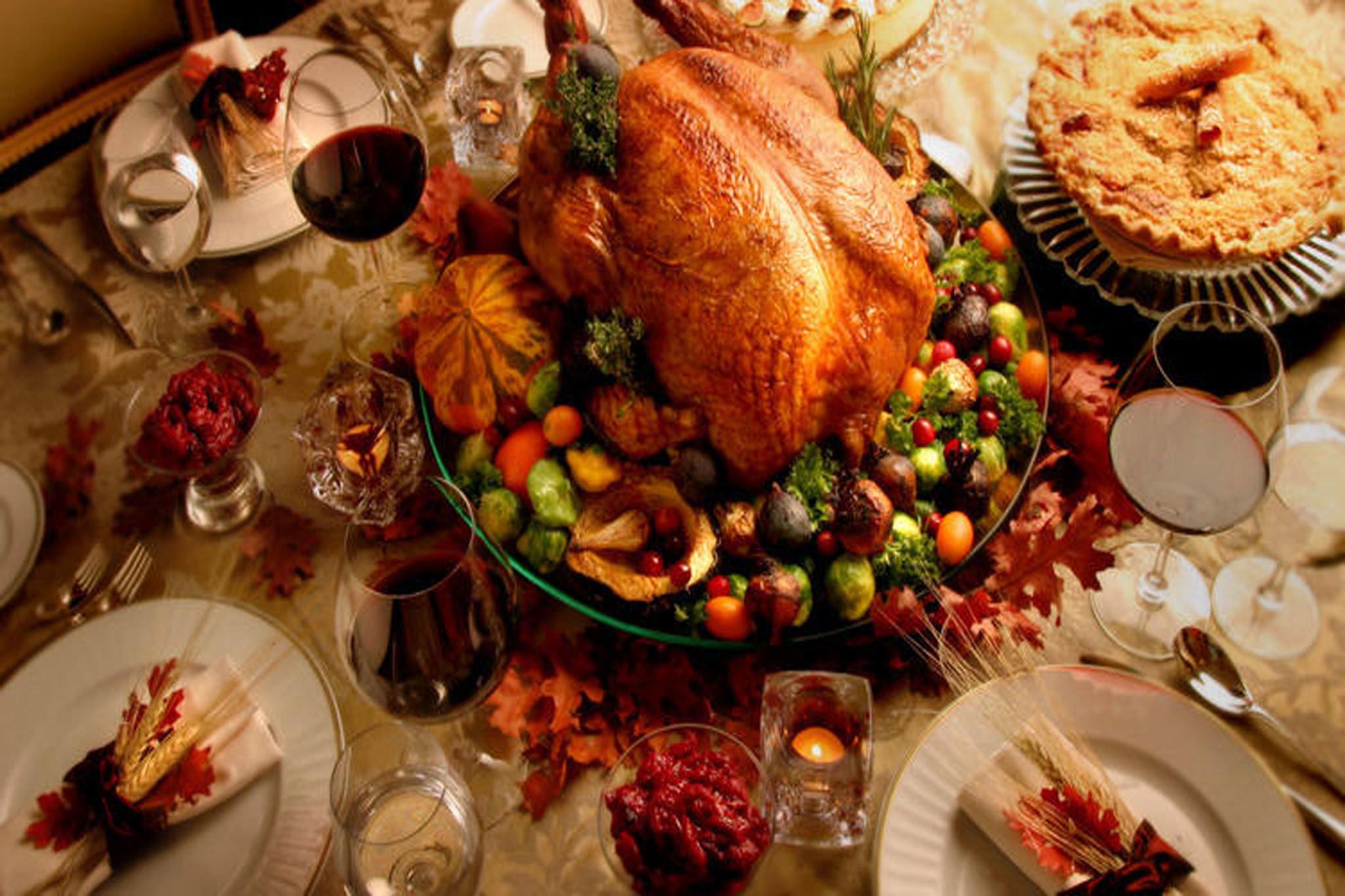 Thanksgiving Dinner Restaurants 2019  Best restaurants for Thanksgiving dinner in Los Angeles