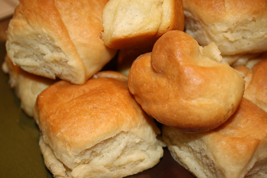 Thanksgiving Dinner Roll  Bread is the Star Today Stuffing Dressing Dinner