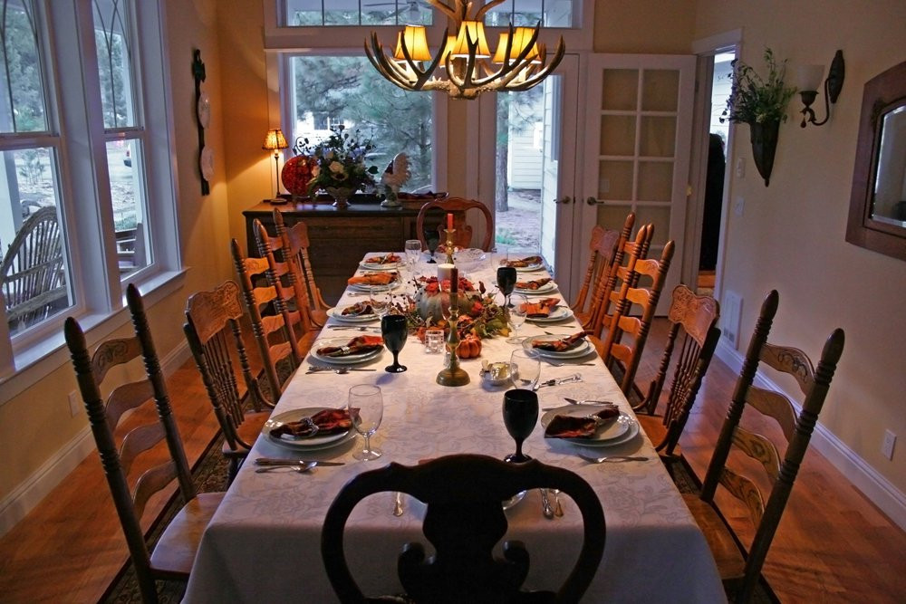 Thanksgiving Dinner Table  A Table of For ful Remembrance