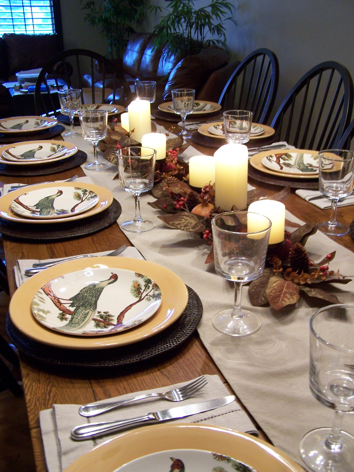 Thanksgiving Dinner Table  Allyson Jane Thanksgiving Dinner From Scratch