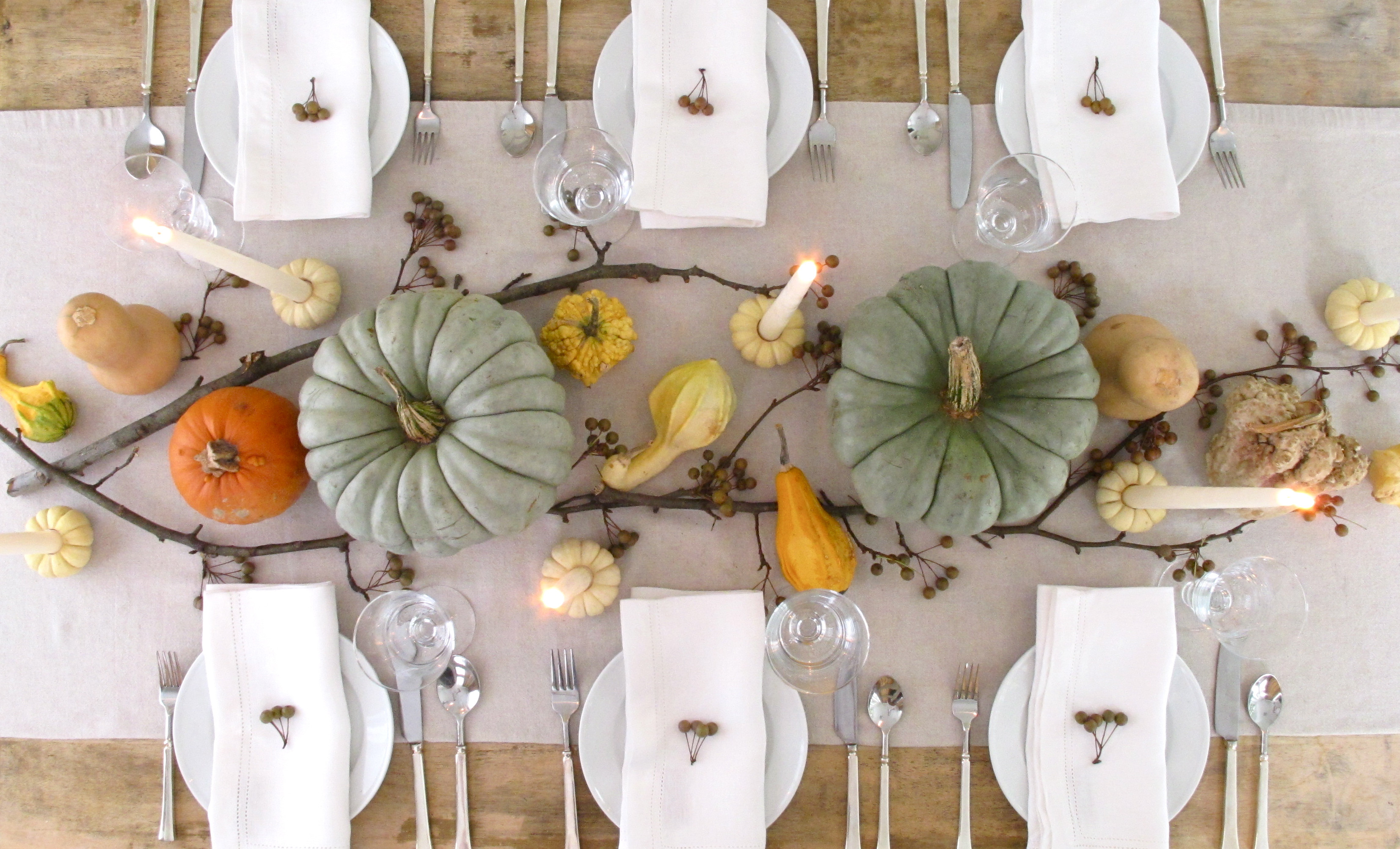 Thanksgiving Dinner Table Decorations  Our favorite Thanksgiving Day table settings TODAY