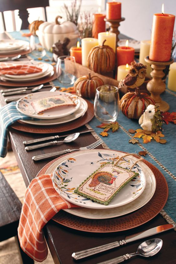 Thanksgiving Dinner Table Decorations  Thanksgiving table decorations Archives