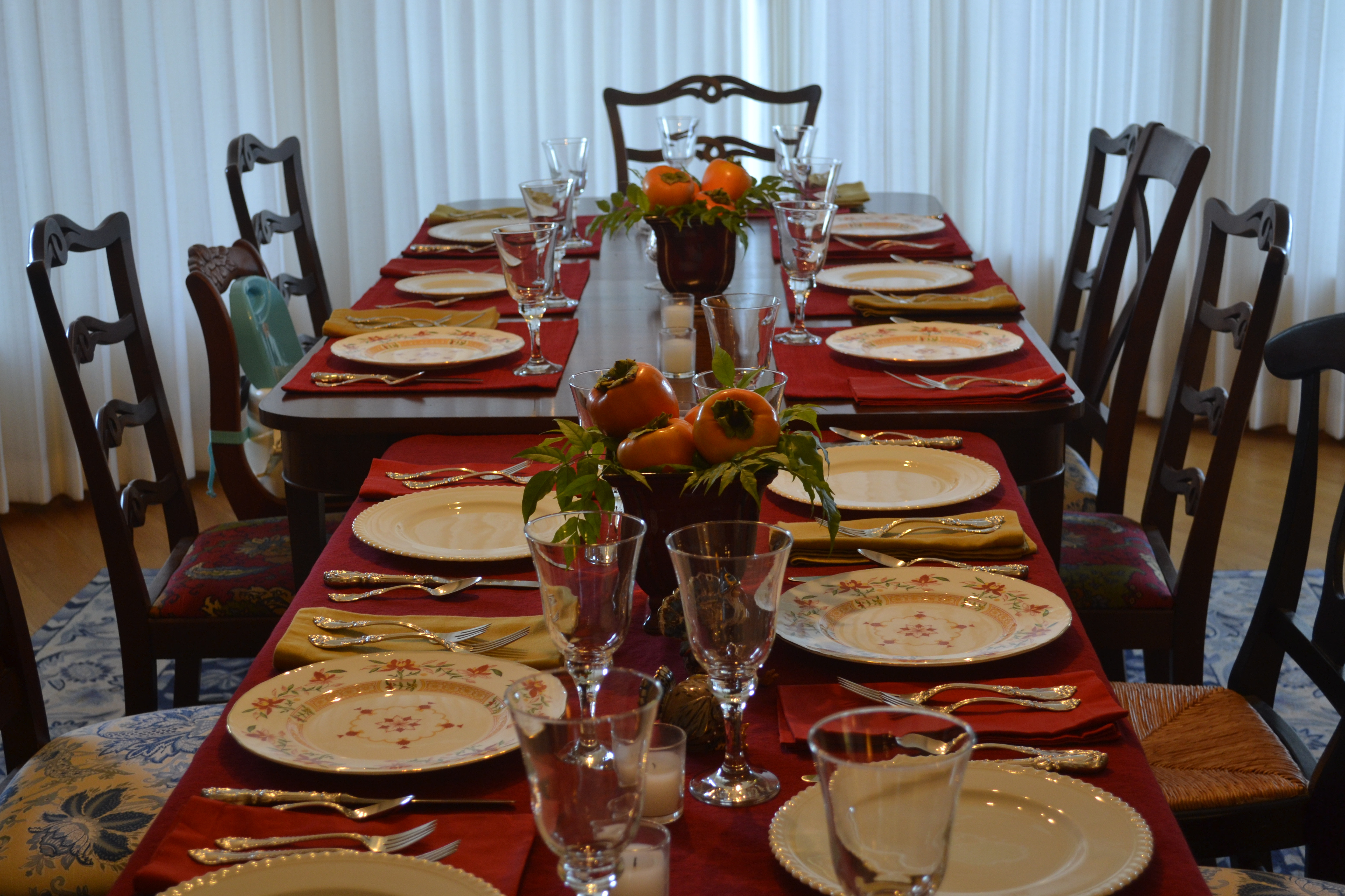 Thanksgiving Dinner Table  301 Moved Permanently