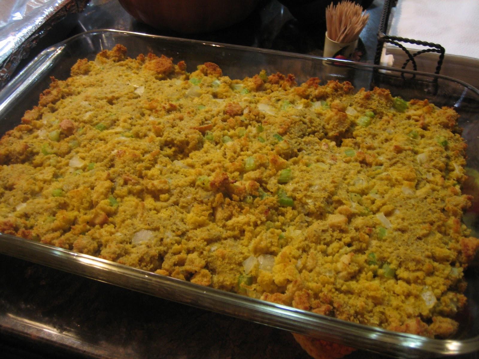 Thanksgiving Dressing Recipe Cornbread  Discovering the Extraordinary Thanksgiving Gluten Free