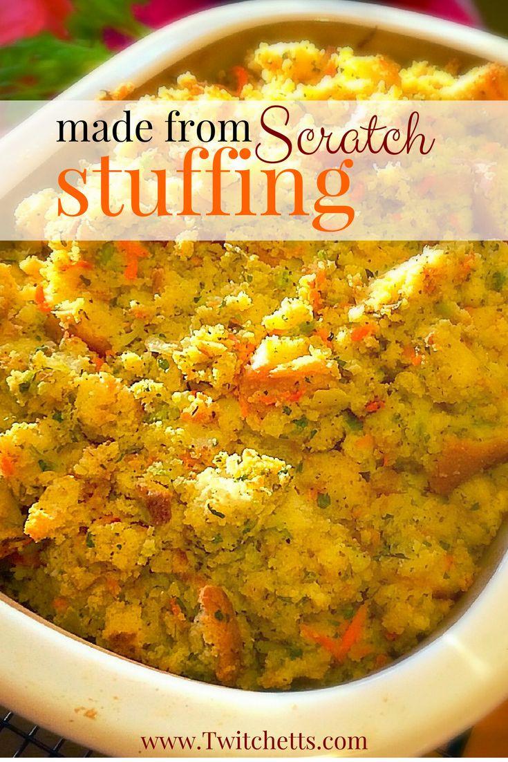 Thanksgiving Dressing Recipe Cornbread  1000 ideas about Thanksgiving Stuffing on Pinterest