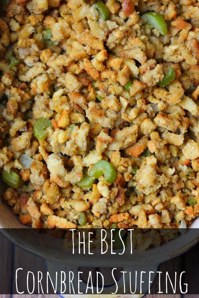 Thanksgiving Dressing Recipe Cornbread  1000 ideas about Cornbread Stuffing on Pinterest