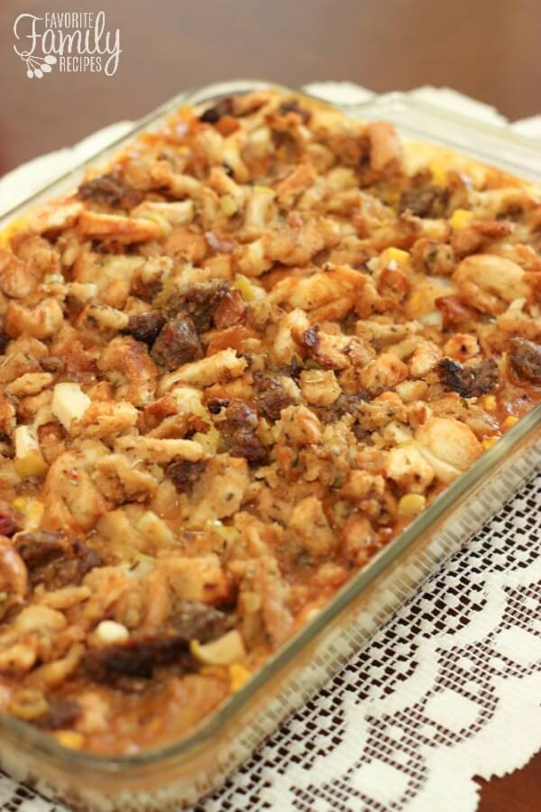 Thanksgiving Leftovers Recipes  Thanksgiving Leftover Casserole