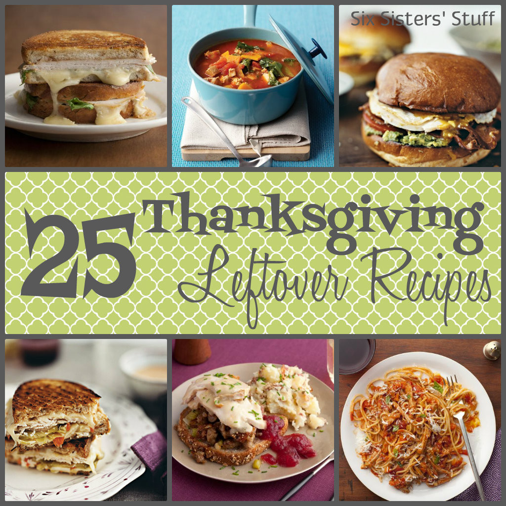 Thanksgiving Leftovers Recipes  25 Thanksgiving Leftover Recipes