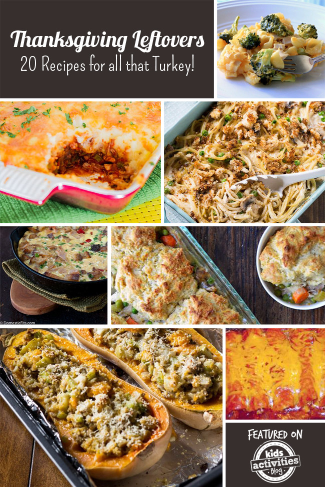 Thanksgiving Leftovers Recipes  Thanksgiving Leftovers 20 Recipes for all that Turkey