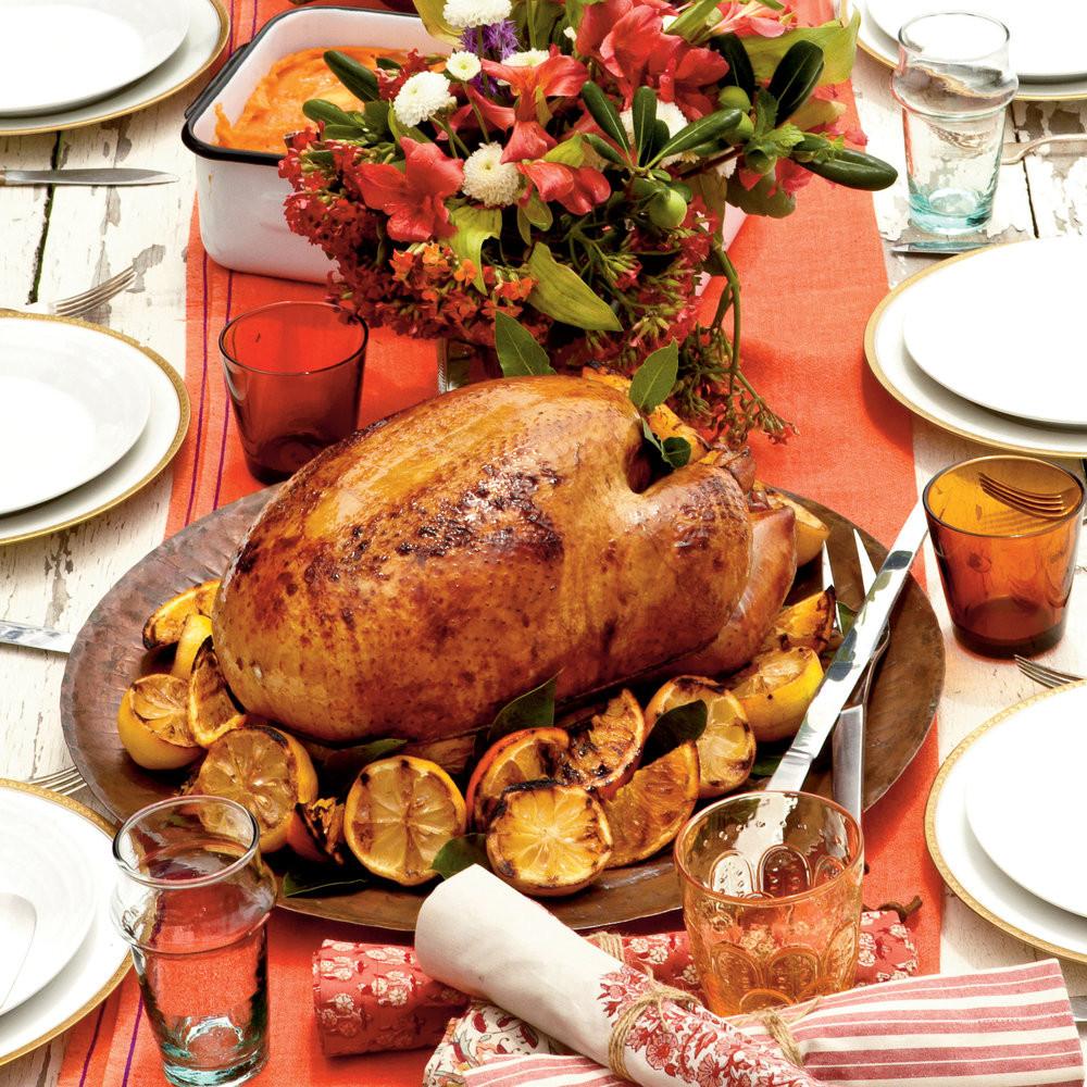Thanksgiving Main Dishes  Holiday Dinner Main Dish Recipes Coastal Living