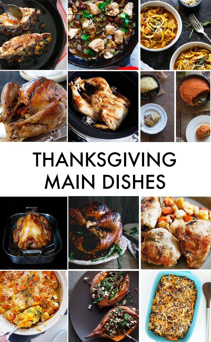 Thanksgiving Main Dishes  Gluten Free Thanksgiving Recipes Lexi s Clean Kitchen