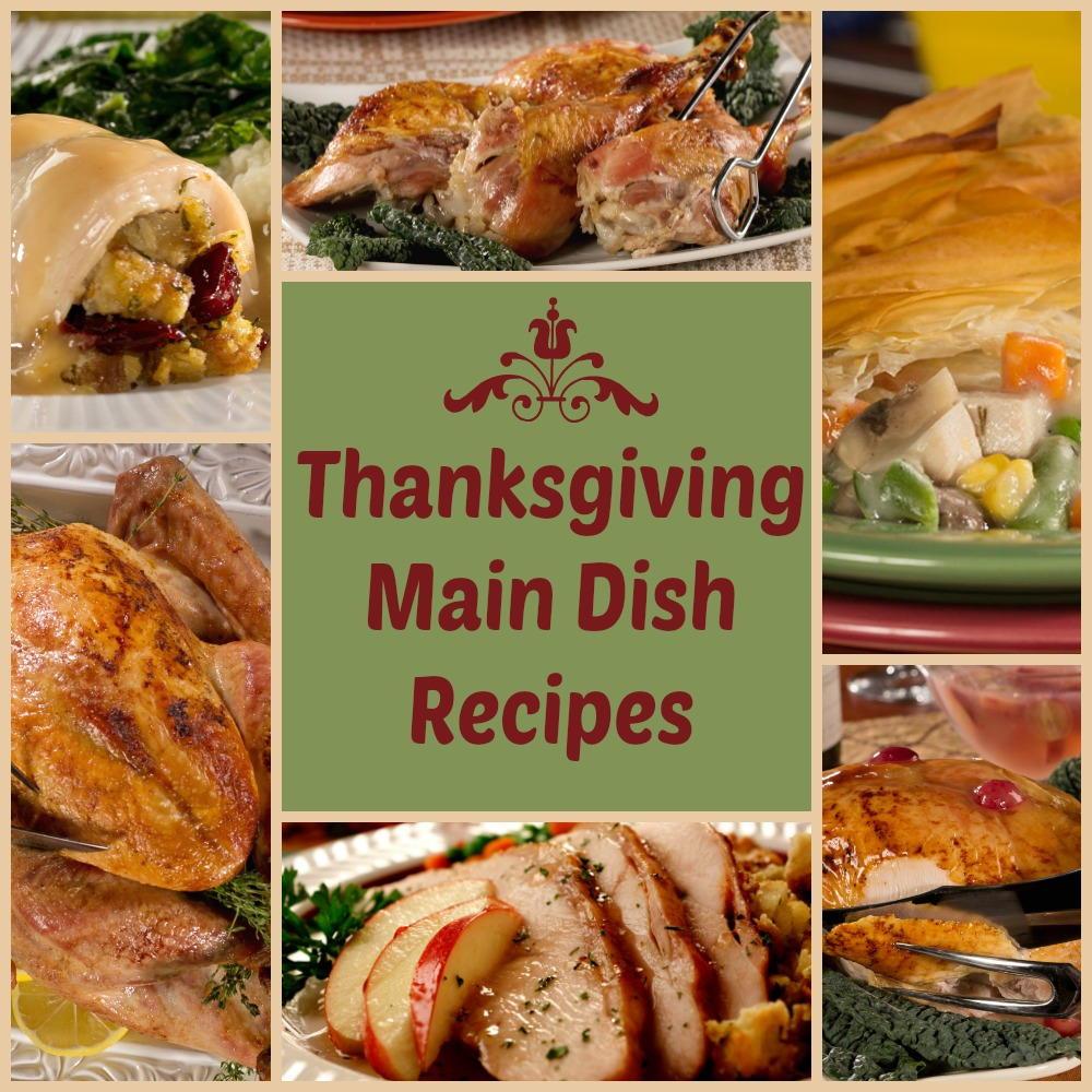 Thanksgiving Main Dishes  Thanksgiving Main Dishes Recipes 6 Delicious Diabetic