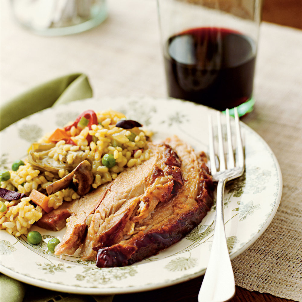 Thanksgiving Main Dishes  Our Best Thanksgiving Recipes Sangria Roast Pork