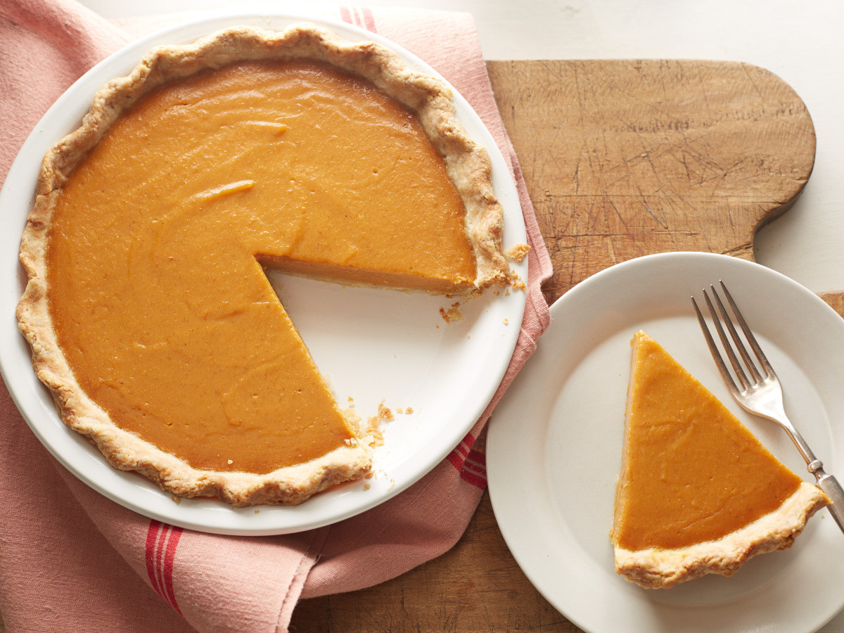 Thanksgiving Pumpkin Pie Recipe  December 25th is National Pumpkin Pie Day
