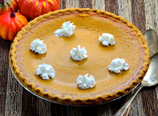 Thanksgiving Pumpkin Pie Recipe  Thanksgiving Pumpkin Pie Uses Fresh Pumpkin Recipe