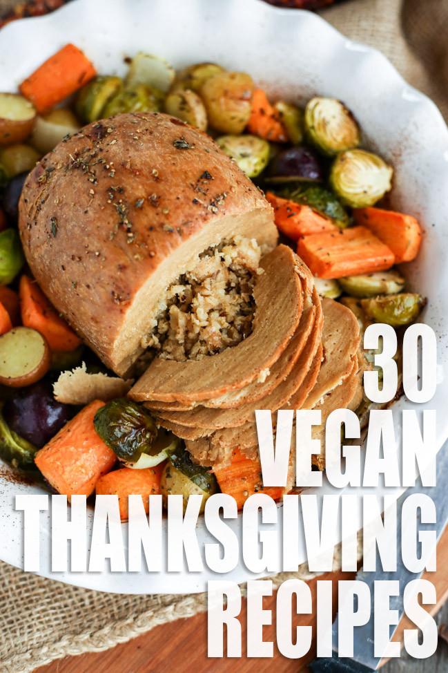 Thanksgiving Recipes Vegan  Vegan Thanksgiving Recipe Roundup I LOVE VEGAN