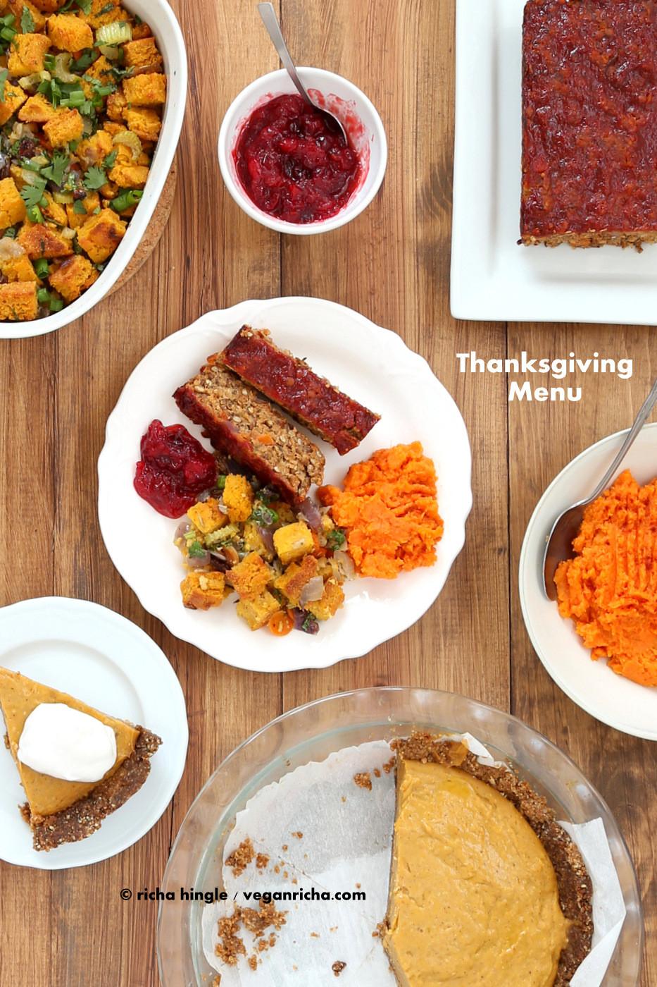 Thanksgiving Recipes Vegan  80 Vegan Thanksgiving Recipes 2014 Vegan Richa