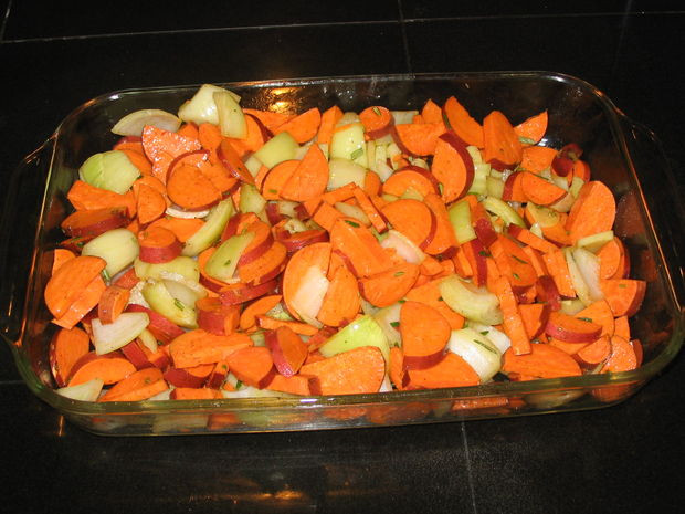 Thanksgiving Roasted Sweet Potatoes  Easy Thanksgiving Recipes