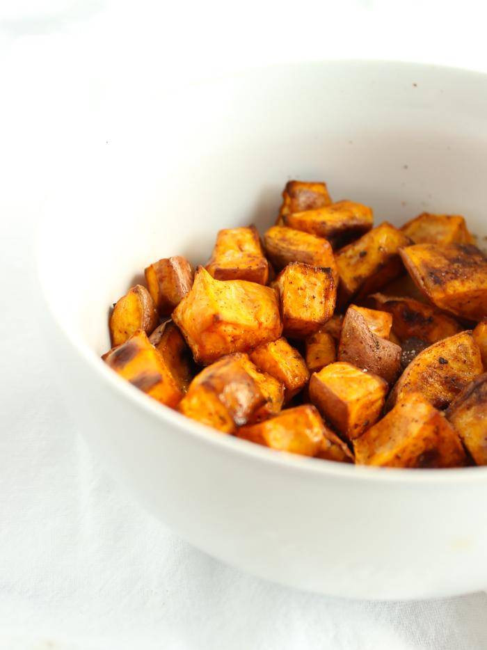 Thanksgiving Roasted Sweet Potatoes  7 Thanksgiving Sweet Potato Recipes for a Crowd Passion