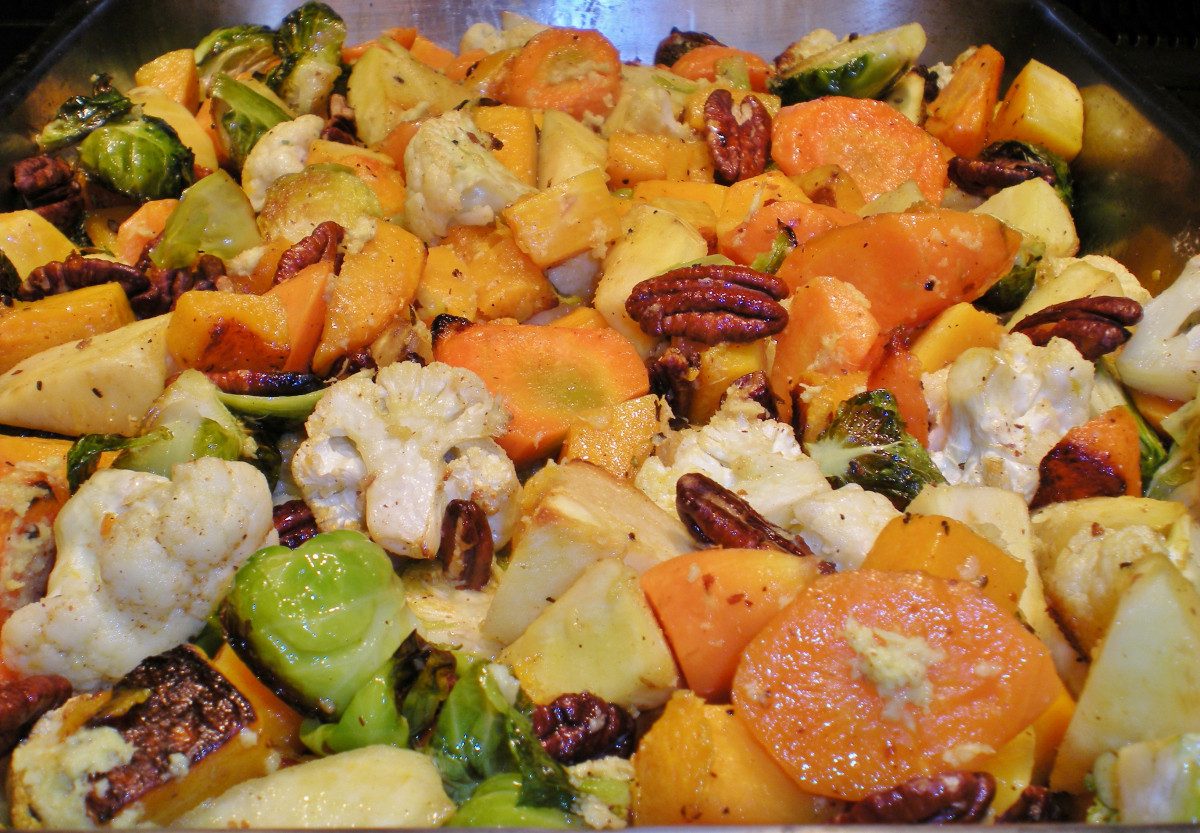 Thanksgiving Roasted Vegetables  Thanksgiving 2013 Green Beans and Roasted Ve ables