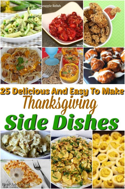 Thanksgiving Side Dishes Easy  223 best images about Holidays Crafts Recipes & Fun on