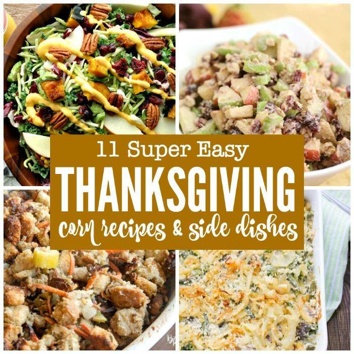 Thanksgiving Side Dishes Easy  11 Easy Thanksgiving Corn Recipes & Side Dishes Passion