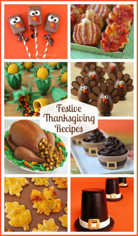 Thanksgiving Snacks Recipes  Decorated Pumpkin Pie Festive Thanksgiving Dessert