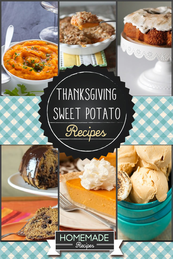 Thanksgiving Sweet Potato Recipes  Thanksgiving Sweet Potato Recipes