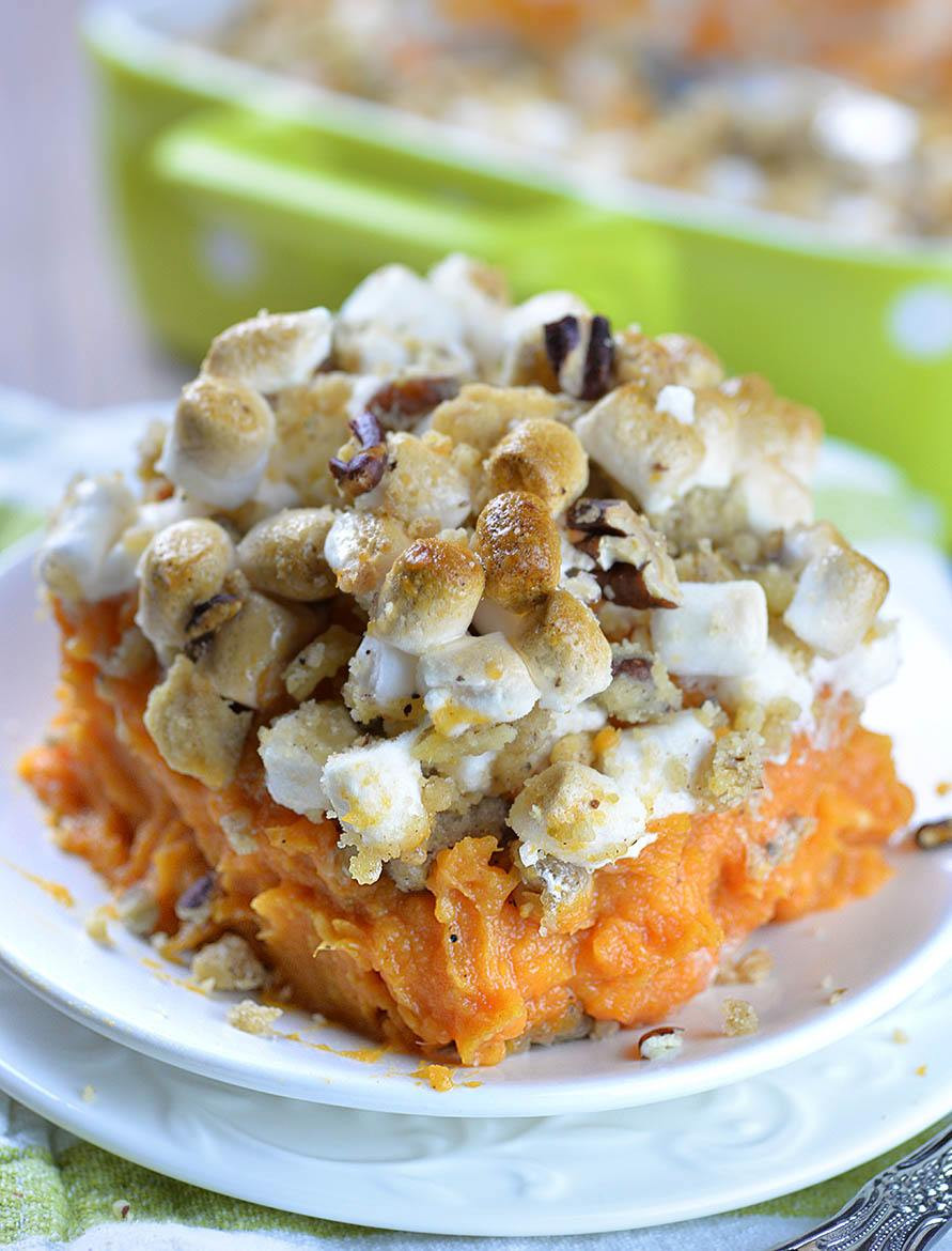 Thanksgiving Sweet Potato Recipes  Sweet Potato Casserole Recipe OMG Chocolate Desserts