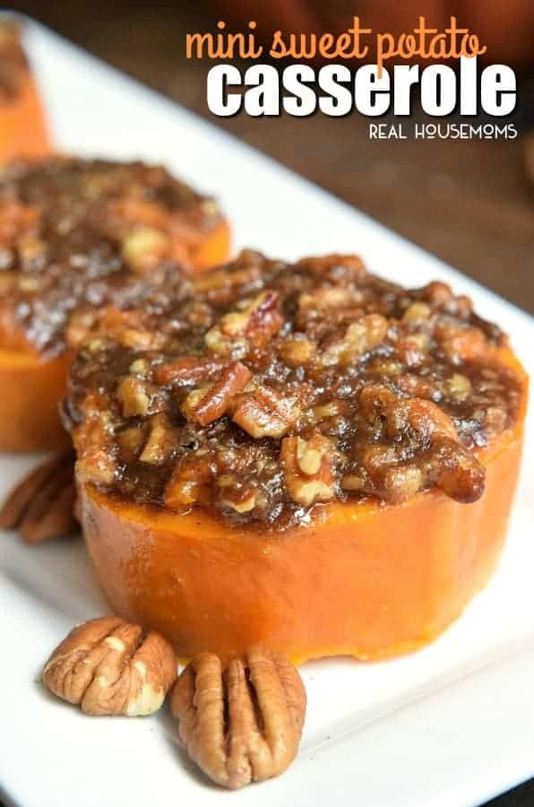 Thanksgiving Sweet Potato Recipes  Mini Sweet Potato Casserole Easy Thanksgiving Side Dish