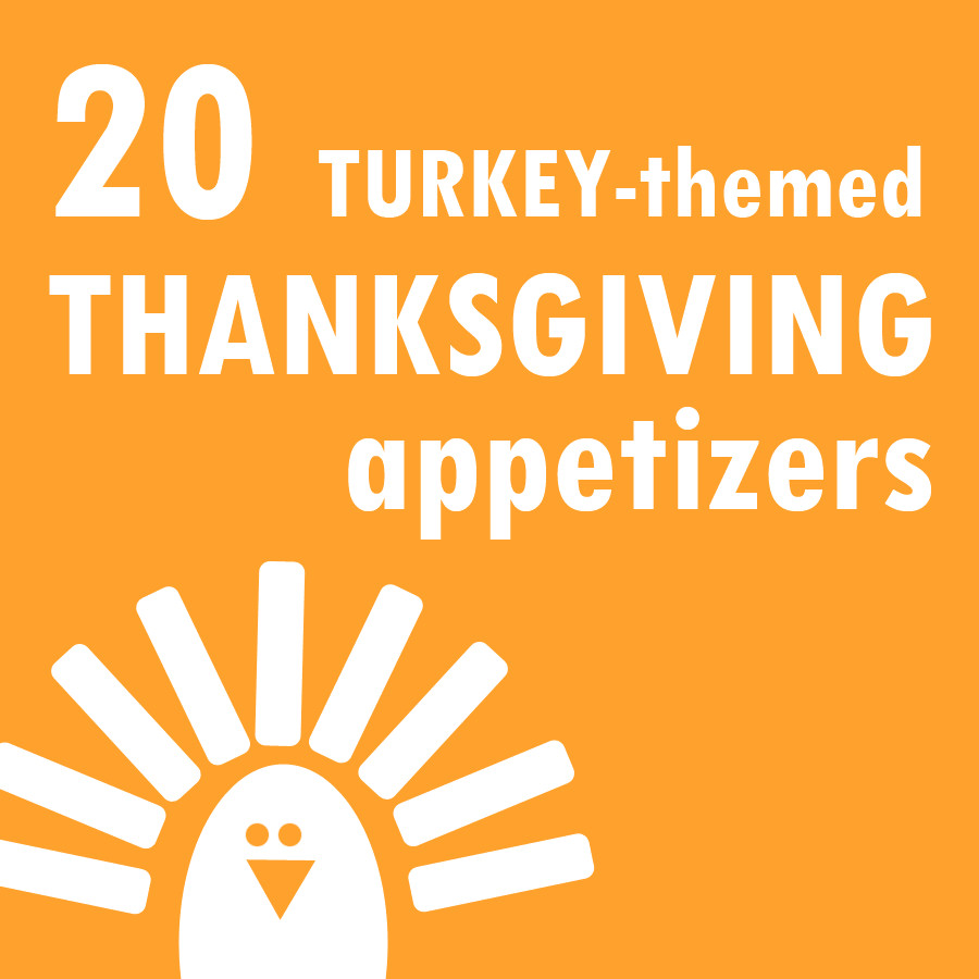 Thanksgiving Themed Appetizers  20 Turkey themed Thanksgiving appetizers roundup