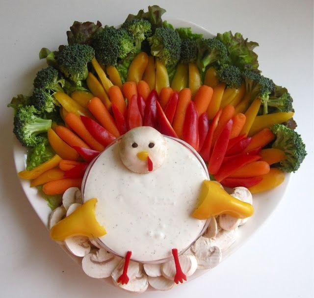 Thanksgiving Themed Appetizers  25 best ideas about Turkey veggie platter on Pinterest