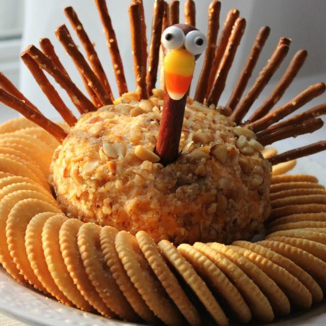 Thanksgiving Themed Appetizers  Best 25 Turkey cheese ball ideas on Pinterest
